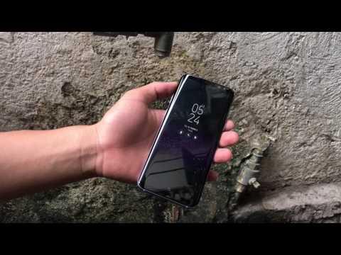 Test nước Samsung Galaxy S8 Plus Xách Tay Mỹ đầu tiên tại Việt Nam