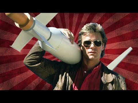 MACGYVER 🌟 THEN AND NOW 2020