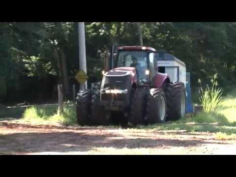 Professor Saulo Guerra – Ensaios com máquinas agroflorestais. Ciência sem limites…
