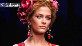 Dolce&Gabbana Full Runway Show - Milan Fashion Week Spring 2012 MFW | FashionTV - FTV
