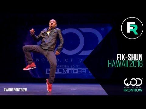 Fik-Shun | FRONTROW | World of Dance Hawaii 2016 | #WODHI16