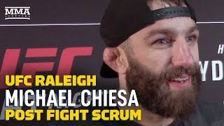 UFC Raleigh: Michael Chiesa Explains Why He Called Out Colby Covington - MMA Fighting by MMA Fighting