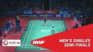 Video MS | Kento MOMOTA (JPN) vs LEE Chong Wei (MAS) [7] | BWF 2018 MP3, 3GP, MP4, WEBM, AVI, FLV Februari 2019