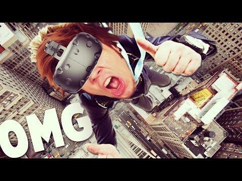 ¿superando mi miedo a las alturas? | realidad virtual (htc vive)