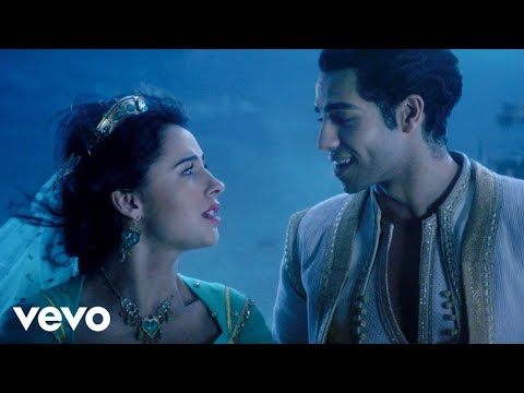 Mena Massoud, Naomi Scott - A Whole New World (from Aladdin) (Official Video)