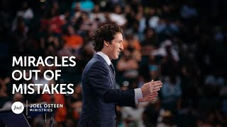 Video Miracles Out Of Mistakes - Joel Osteen MP3, 3GP, MP4, WEBM, AVI, FLV Juni 2019