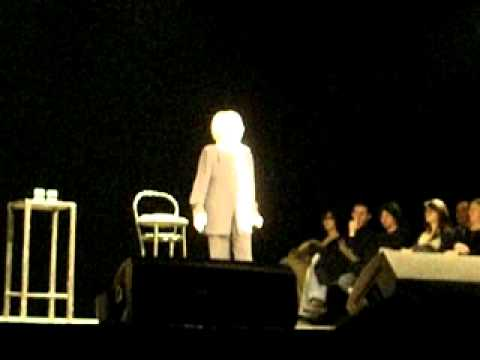 Franca Rame al teatro di Varese