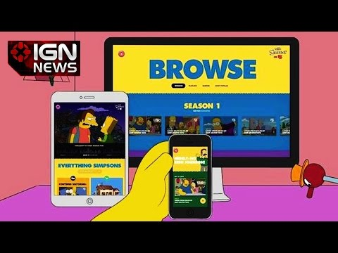 App - Tomorrow, October 21st, FX will launch Simpsons World, a new app that lets fans watch any episode of The Simpsons at any time, on any device.