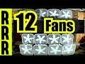 FAN NOISE = 12 FANS for 12 HOURS WARNING BOX FANS GALORE ! FAN NOISE = BOX FAN for FAN WHITE NOISE
