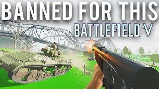 За понижение графики в Battlefield 5 можно словить бан