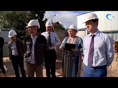 Министр культуры России Владимир Мединский прибыл в Новгород с рабочим визитом