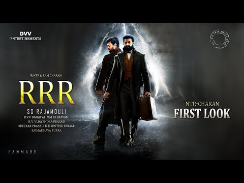 RRR Movie Teaser || Jr Ntr, Ramcharn,ss Rajamouli Dvv Entertainments || Our Entertainment