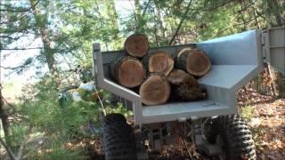 Video Custom ATV Trailer with Hydraulic Dump MP3, 3GP, MP4, WEBM, AVI, FLV November 2017