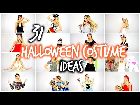 31 (Last Minute) Halloween Costume Ideas | Laura Reid