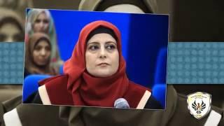 مناقشة رسالة ماجستير الباحثة نهيل أحمد