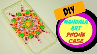Mandala art inspired Phone case