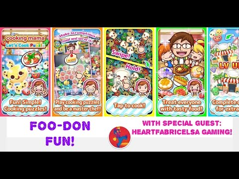 (Puzzle) Cooking Mama - FOO-DON FUN! First Play Video Game Review!