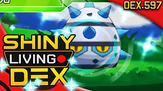 SHINY FERROSEED!! Live Reaction! Quest For Shiny Living Dex #597 | Pokemon XY by aDrive