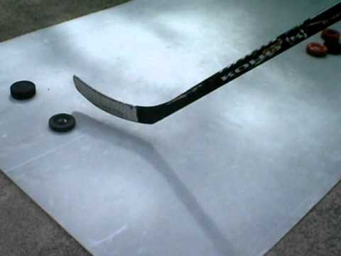 How to Make a Cheap Hockey Shooting Pad