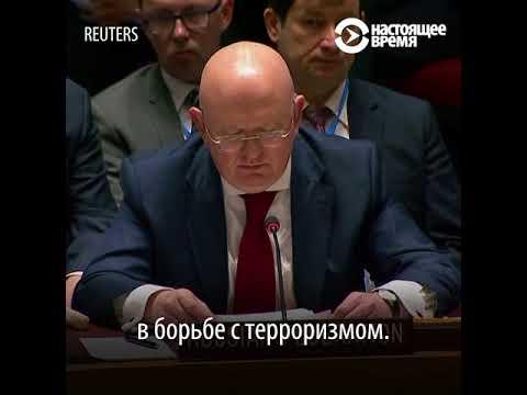 Россия и США в Совбезе ООН после ударов по Сирии - DomaVideo.Ru