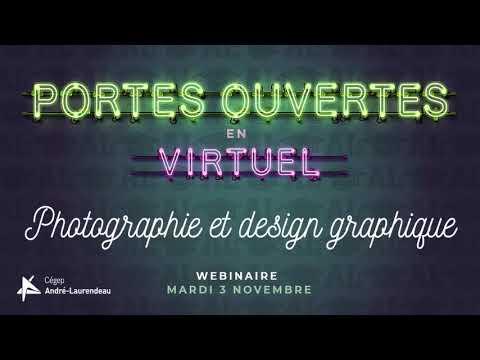 Webinaire pour le programme Photographie et design graphique du 3 novembre 2020