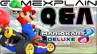 Mario Kart 8 Deluxe Q&A: 50 of YOUR Questions Answered by GamExplain!