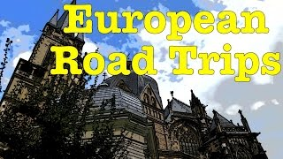Aachen Germany  city photos gallery : Road trip to Aachen, Germany - Aachen Cathedral, Aachen Rathaus