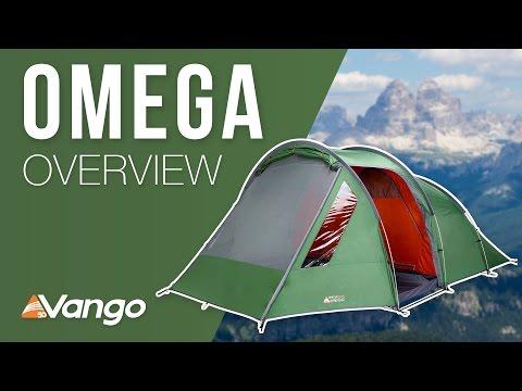 Відео демонстрація намету Vango Omega 500XL  Cactus