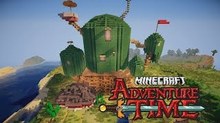Minecraft Adventure Time Treehouse