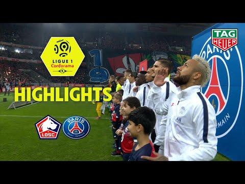 LOSC - Paris Saint-Germain ( 0-2 ) - Highlights - (LOSC - PARIS) / 2019-20