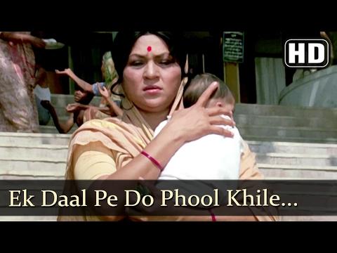 Ek Daal Pe Do Phool Khile (HD) - Suhaag Songs - Nirupa Roy - Kader Khan - Filmigaane
