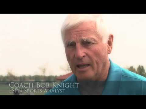 Coach Bob Knight on Trine University