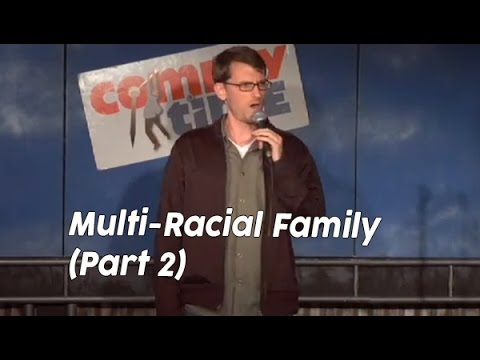 racial - Ryan Conner talks about growing up in a family with brothers and sisters of other races.