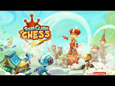 Toon Clash Chess (official HD game trailer)