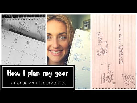 HOW TO PLAN A YEAR ROUND HOMESCHOOLING SCHEDULE||THE GOOD AND THE BEAUTIFUL