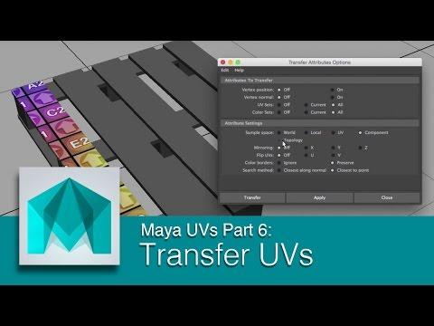 DART 104 Intro To Maya: UVs Part 6 Transfer UVs