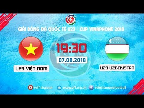 FULL   U23 VIỆT NAM vs U23 UZBEKISTAN   GIẢI BÓNG ĐÁ U23 CÚP VINAPHONE 2018   VFF Channel - Thời lượng: 2:17:44.