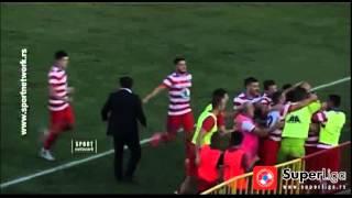 Super liga 2015/16: 9.Kolo: Borac - Novi Pazar 3:0 (1:0)