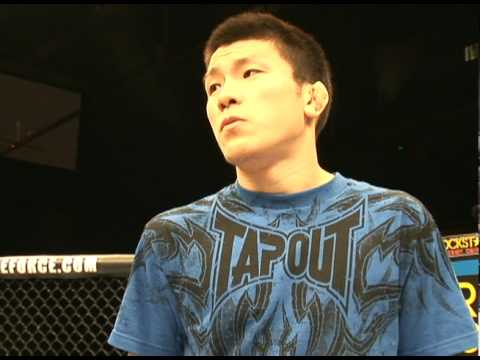 Shinya Aoki in Nashville Getting Ready for Melendez Fight