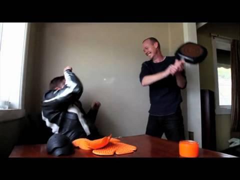 d3o advanced motorcycle armour - trauma test