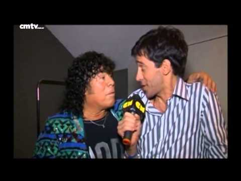 La Mona Jiménez video Entrevista CM - Luna Park 2014