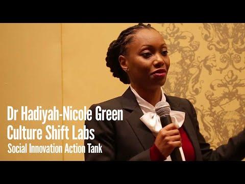 Dr  Hadiyah-Nicole Green at the Culture Shift Labs Social Innovation Action Tank