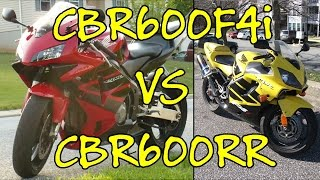 8. Going From A CBR600RR To A CBR600F4i