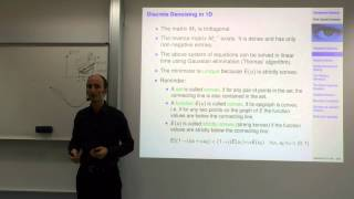 Variational Methods For Computer Vision - Lecture 5  (Prof. Daniel Cremers)