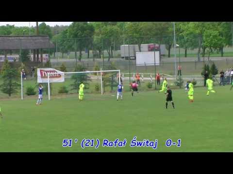 Bramka z meczu Formacja Port 2000 Mostki  - Stilon Gorzów 0:1 [21.05.2016]