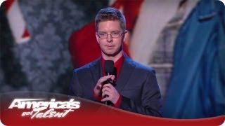 Young And Ironic Stand-up Comedian - America's Got Talent Jacob Williams Quarterfinals