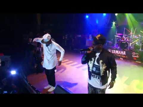 "MI, Ice Prince And Jesse Jags Performs At Felabration 2015 ""Just Like That"""