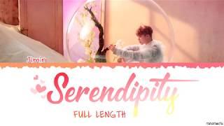 Video [Full Length Edition] BTS  JIMIN - SERENDIPITY (세렌디피티) Lyrics [Color Coded Han_Rom_Eng] MP3, 3GP, MP4, WEBM, AVI, FLV Januari 2019