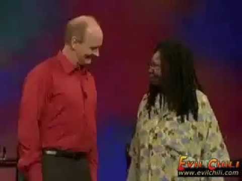 Whoopi Goldberg on Whose line is it