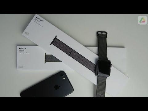 Sport Loop Armband für die Apple Watch Review (deutsch)